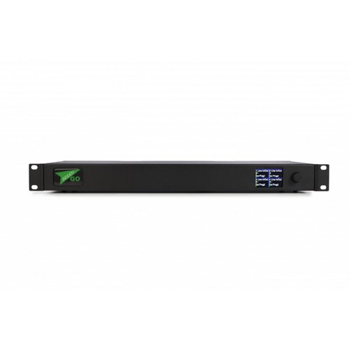 "GreenGO 4 streams Bridge Interface in 19"" 1U cabinet , V4"