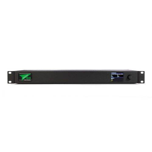 """GreenGO Audio Interfacex 2x 4-wire and 1x 2-wire in 19"""" 1U"""
