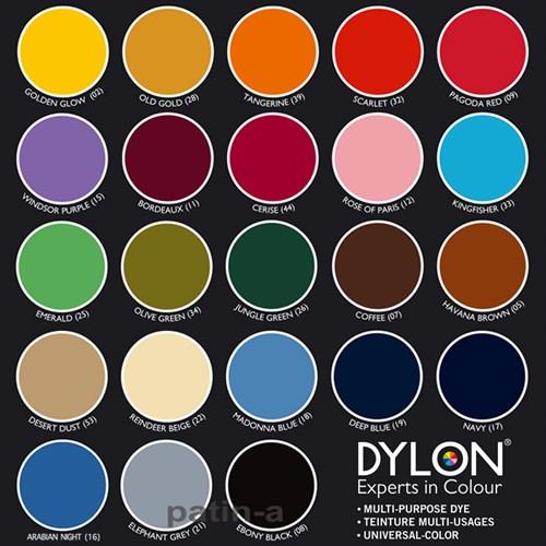 Dylonfarge 500g 08 Ebony Black
