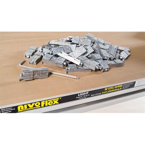Nivoflex. låsestykke / låselement Unbrako 5mm 1.017