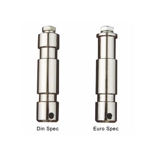 Spigot  28mm >M12 Hull  Din spec m/40mm bolt & skiver